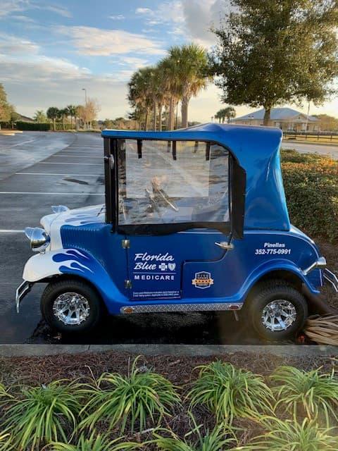 Missing Golf Cart