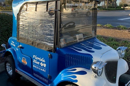 Have you seen this golf cart?